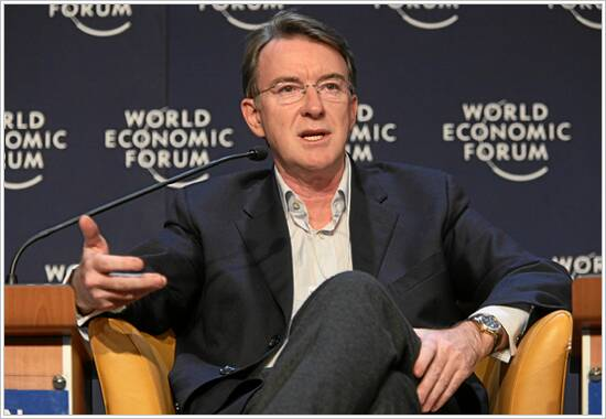 Photo of Peter Mandelson
